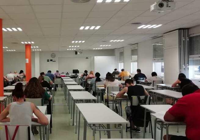 Los procesos selectivos de la administración general del Estado se han realizado, por primera vez, en el centro universitario asociado a la UNED de Valdepeñas