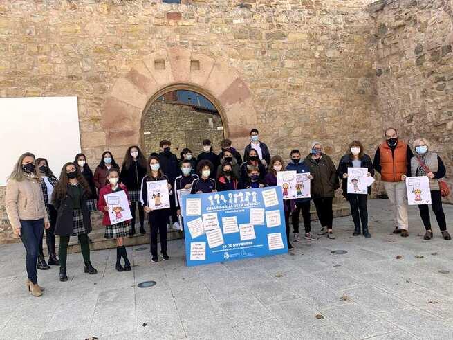 Pleno infantil en Sigüenza, con motivo del Día Universal de la Infancia