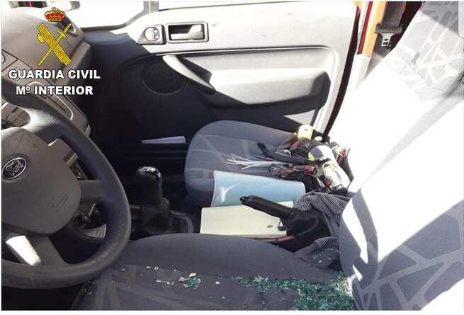 La Guardia Civil, con el apoyo de la Policía Local, ha detenido a cuatro personas por 26 delitos de robo en Viso de San Juan