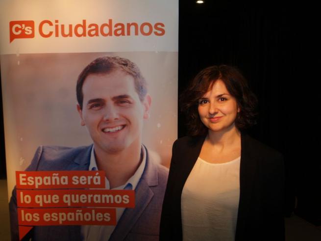Imagen: Orlena de Miguel, candidata de Ciudadanos a la Alcaldía de Torrejón del Rey