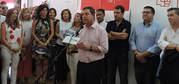 """GARCÍA-PAGE: """"NUESTRO OBJETIVO ES GANAR EN CASTILLA-LA MANCHA Y SUMAR VICTORIAS EN TODOS LOS PUEBLOS DE NUESTRA REGIÓN, PARA QUE ENTRE TODOS CONSIGAMOS QUE PEDRO SÁNCHEZ SEA EL PRÓXIMO PRESIDENTE DEL GOBIERNO DE ESPAÑA"""""""