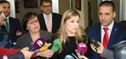 """La consejera de Fomento aclara que el Gobierno regional ya solicitó al ministro de Fomento medidas """"urgentes"""" para la seguridad de la N-430"""