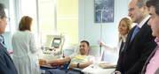 """El Servicio de Salud de Castilla-La Mancha inicia las donaciones por plasmaféresis en el hospital """"Santa Bárbara"""" de Puertollano"""