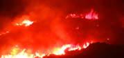 Controlado el incendio en el cerro de Santa Ana de Puertollano