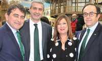 Eurocaja Rural, la Diputación Provincial de Toledo, y los ayuntamientos de Talavera de la Reina y Toledo, juntos en FITUR