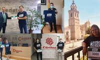 Talavera de la Reina participa activamente en la Carrera Virtual Solidaria Fundación Eurocaja Rural