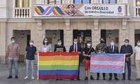 """Guadalajara conmemora el Día Internacional del Orgullo  LGTBI """"orgullosa de su diversidad"""""""