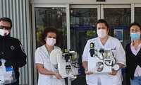 """Entregados al Hospital dos respiradores para la UCI gracias a la iniciativa """"Villarrobledo Compromiso"""""""