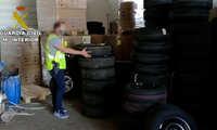 Desarticulado un grupo criminal especializado en el robo de vehículos pesados y su mercancía