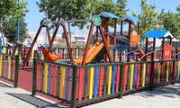 Abiertos los parques infantiles de Alcázar de San Juan que fueron precintados con motivo de la pandemia