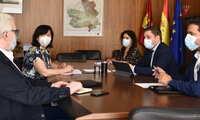 El Gobierno regional y el Ayuntamiento de Alcázar de San Juan continúan avanzando en proyectos prioritarios