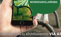 Villarrubia de los Ojos implanta un nuevo servicio del Ayuntamiento, para comunicar Incidencias a través de app de móvil y web