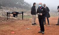 """El Ayuntamiento de Ciudad Real utiliza drones para """"mapear"""" la ampliación del Parque Forestal de La Atalaya"""