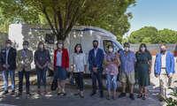 Caballero inaugura en Alcázar un área para autocaravanas integrada en la ciudad y dotada con los mejores servicios