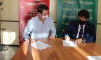 AJE rubrica con Fundación Globalcaja Ciudad Real su colaboración en la X edición del encuentro de negocios CONECTA 2021