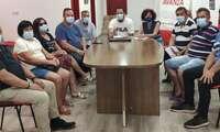 Los vecinos y vecinas de Valdeazogues, perteneciente a Almodóvar del Campo, exigen soluciones en su agua