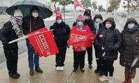 Movilizaciones en XPO-Marchamalo contra los despidos injustificados de trabajadores indefinidos