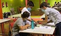 12 adolescentes se inician en el diseño de videojuegos en el I Campus de Robótica de Alcázar de San Juan