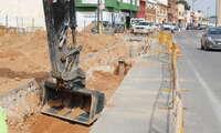 Invertidos en La Roda 40.000 euros en parte del saneamiento de la Avenida Felipe VI