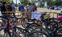 Más de 300 estudiantes de los tres institutos de Alcázar participan en la Ruta Urbana por la Movilidad con motivo de la  Semana Europea de la Movilidad