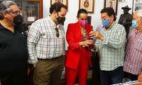 Masías recibe el reconocimiento de la Hermandad de Pandorgos de Ciudad Real