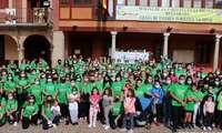 La Solana celebró su particular 'marcha verde' contra el cáncer