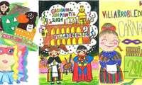 Entregados en Villarrobledo los premios a las ganadoras del concurso infantil de carteles del Carnaval 2021