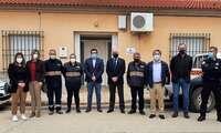 El Gobierno de Castilla-La Mancha dota de material de primeros auxilios a la Agrupación de Voluntarios de Protección Civil de Villahermosa