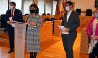 """La alcaldesa de Ciudad Real valora que la pandemia """"no ha hecho olvidar"""" los compromisos del Plan de Modernización"""