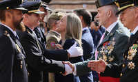 """La alcaldesa de Toledo felicita a los españoles en el Día de la Fiesta Nacional y destaca la labor de la Guardia Civil """"los 365 días del año"""""""