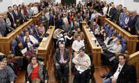 """Las Cortes regionales impulsan un plan global para hacer accesible el edificio, la web y las leyes """"al 100% de las personas"""""""