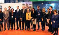 Milagros Tolón presenta en Fitur 2017 la promoción internacional Toledo en el seno de las Ciudades Patrimonio de la Humanidad