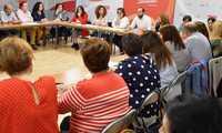 """Los candidatos del PSOE al Congreso reivindican """"no dar ni un paso atrás en Igualdad"""""""