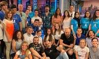 Los ganadores de la competición de robótica del CEEI de Guadalajara visitan El Hormiguero