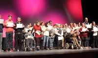 Alcázar vivió una emotiva IV Gala de la Discapacidad
