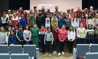 Caballero pide a los escolares en Cabañeros que sean reivindicativos en torno a la conservación del medio natural