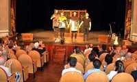 """""""En un lugar de Calatrava"""", plato fuerte del Festival Iberoamericano de Teatro Contemporáneo, se estrena con éxito de público y de crítica"""