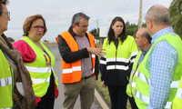 El Gobierno Regional inverte 930.000 euros en la mejora y rehabilitación del firme de la carretera CM-4202 entre Alamillo y la N-502