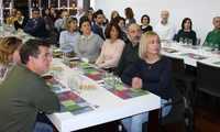 La cata de vino y cine 'Experiencias' de La Solana congregó a 38 personas en La Casota
