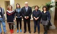 Mabel Lozano visitó Manzanares para concienciar a los jóvenes sobre la trata y la prostitución