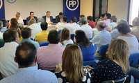 El Comité Ejecutivo Provincial aprueba, por unanimidad, la propuesta del PP para diputados provinciales