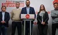 """Gutiérrez: """"somos la tercera comunidad donde más crece el PSOE en porcentaje de voto"""""""