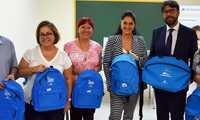 """La Obra Social """"la Caixa"""" facilita la vuelta al cole en Ciudad Real a  57 escolares en riesgo de exclusión social"""