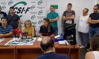 CSIF y la Plataforma de Bomberos de Ciudad Real reclaman una mesa negociadora al presidente de la Diputación