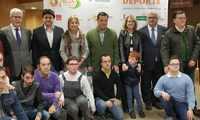 Nieves García ofrece a FECAM el apoyo de la Diputación de Albacete para que su exposición 'Puro deporte' recorra toda la provincia