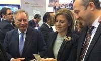 La Ministra de Defensa se interesa por FERDUQUE, la I Feria Nacional Agroganadera de los Estados del Duque