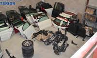 Desarticula una organización que sustraía vehículos y los vendía por piezas a través de una empresa de venta de recambios