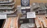 Desarticulado un grupo criminal dedicado a distribuir heroína en narcopisos y al cultivo indoor de marihuana