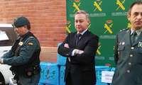 Intervenidos 18 fardos con 540 kilos de hachís en Villarrobledo