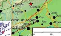 Registrado un terremoto de magnitud 4,2 en Albatera (Alicante), que se ha dejado sentir en la provincia de Albacete